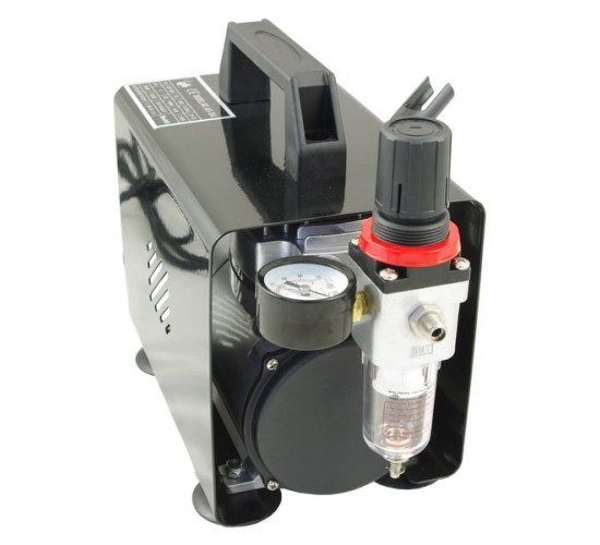 Airbrush mini kompresor z ohišjem AS-18A