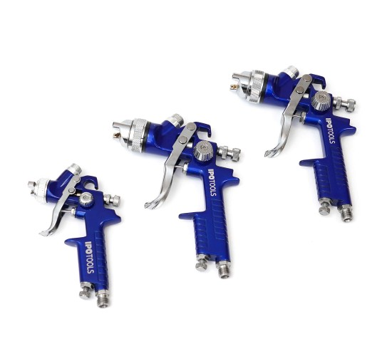 Set 3 lakirnih pištol Ipotools (H827 in H2000)