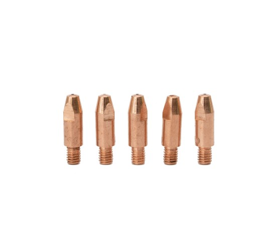 MB25 Kontaktna šoba M6x28 1,0 mm (5 kos)