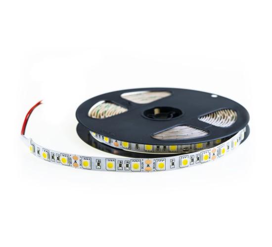 LED trak  - toplo bel SMD 5050 - 5m