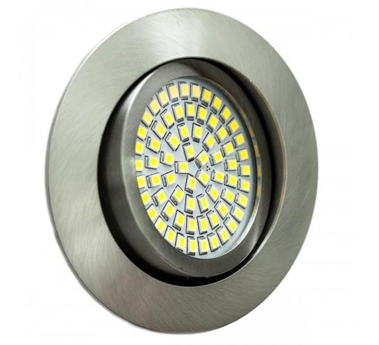 LED Ultra tanka vgradna luč 3,5W 230V 350lm 6000K - hladna bela