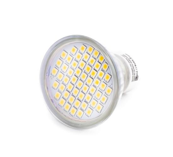LED sijalka GU10 - 54x3528SMD 3W toplo bela