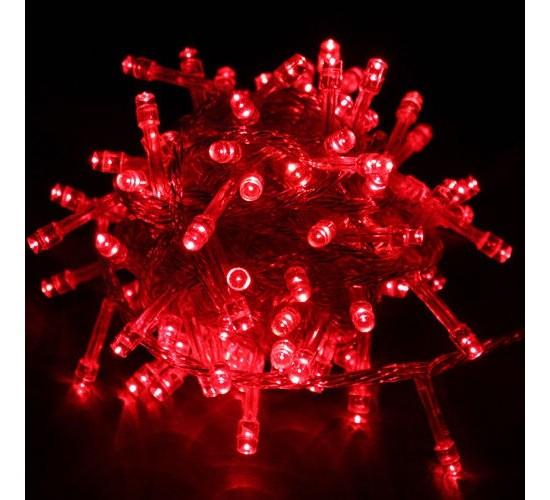Novoletne lučke rdeče - 10m