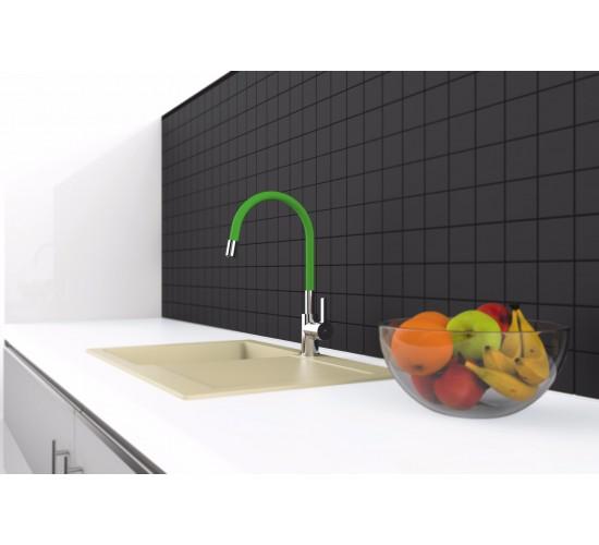 Kuhinjska armatura Rubineta Flexy - Zelena