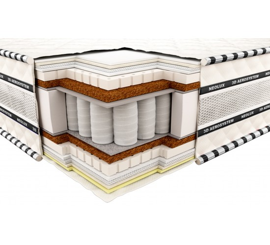 Vzmetnica 3D Imperial Latex-Coconut 120x200