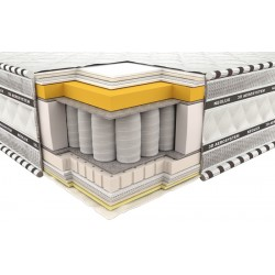 Vzmetnica 3D Imperial Memory Latex 180x190