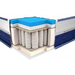 Vzmetnica ViscoGel Spring Comfort 3D 120x200
