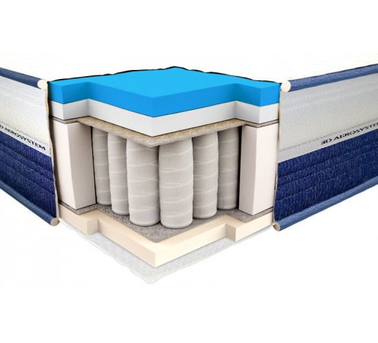 Vzmetnica Viscogel Spring Comfort 3D 140x190