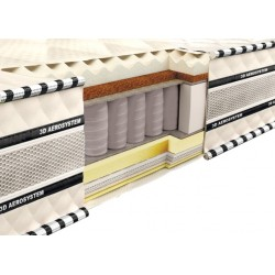 Vzmetnica 3D Magnat Memory-Latex-Cocos 200x200