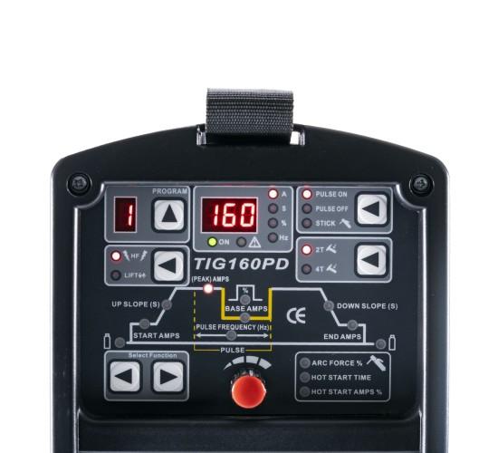 Inverterski varilni aparat TIG160PD