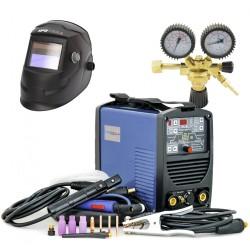 Inverterski varilni aparat TIG160PD + maska J500A + ventil