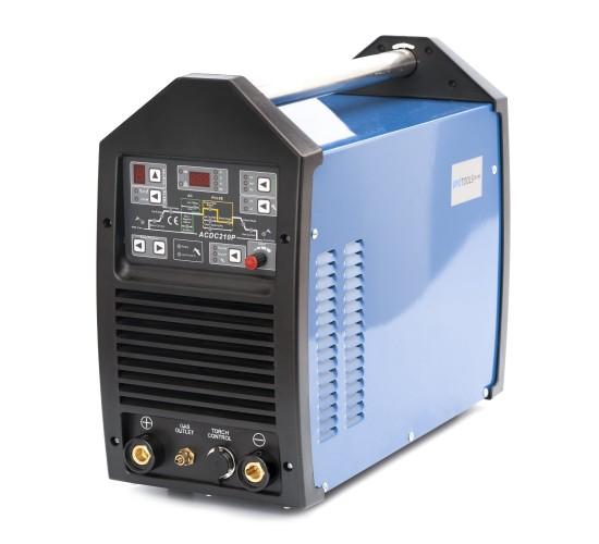 Varilni aparat inverter IPOTOOLS TIG210P IGBT AC/DC