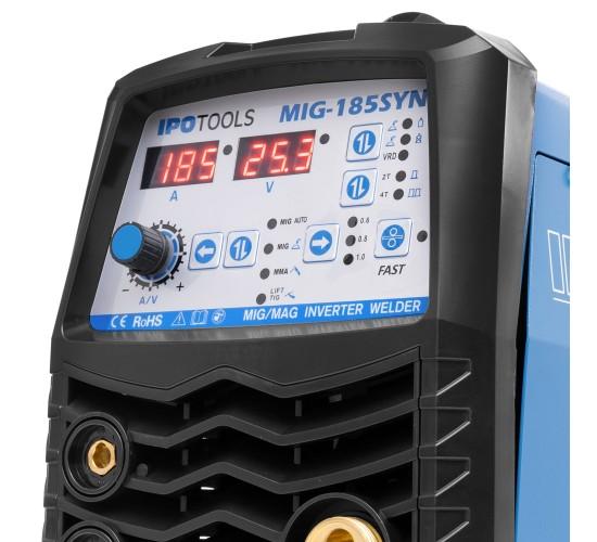 Inverterski varilni aparat IPOTOOLS MIG-185 Synergic