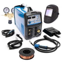 Varilni aparat IPOTOOLS MIG-185 Synergic + maska + ventil + žica