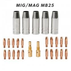 Set potrošnega materiala za MIG/MAG gorilnik MB25