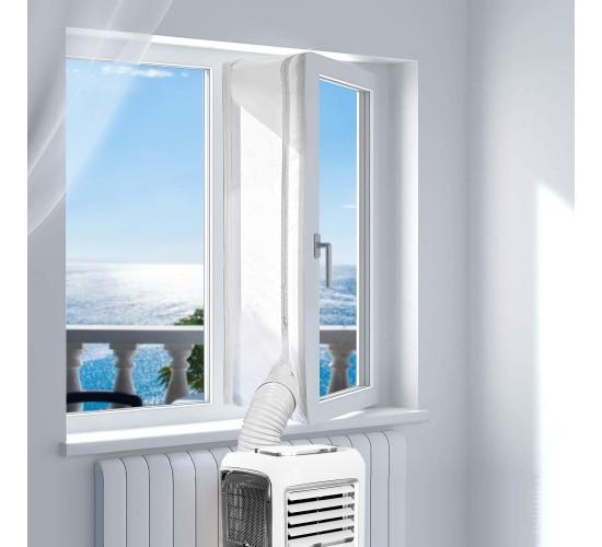 Tesnilo za okno pri uporabi prenosne klime