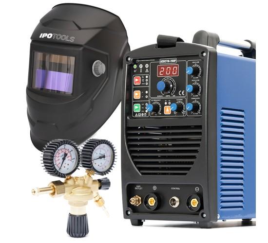 Komplet - Inverterski varilni aparat ACDCTIG 200P + maska + ventil| Ipotools.si