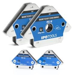 Set magnetnih kotnikov za varjenje (2x Ipo1 + 2x XS)