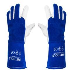 Varilne rokavice AP-1199 (Naravno goveje in kozje usnje)